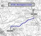 tracciato della strada marchegiana e casini