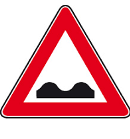 cartello strada deformata