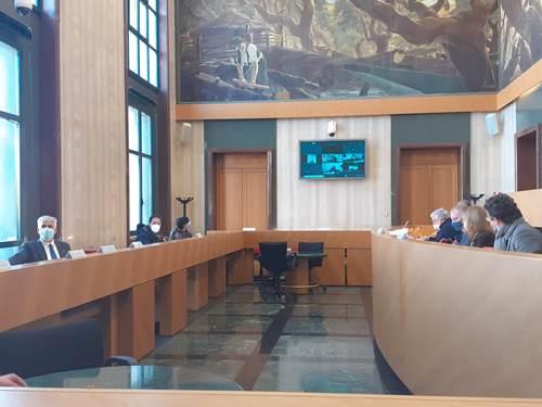 In Consiglio provinciale parte la discussione sugli impianti rifiuti. seduta del 18 gennaio 2021