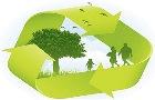 logo relativo al ciclo di gestione dei rifiuti