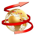 Immagine del globo con freccia che lo avvolge