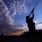 cacciatore all'alba