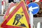 immagine cartello stradale lavori