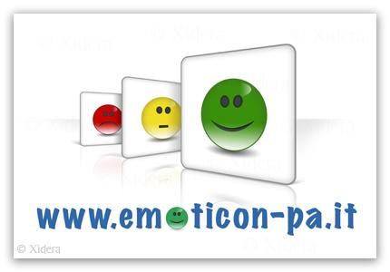 Il logo del progetto Emoticons