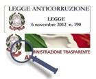 doppio logo leggi anticorruzione e trasparenza