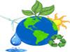 logo terra con fonti rinnovabili
