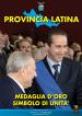 Un primo piano dell'ex Presidente della Repubblica Ciampi e del Presidente della provincia di Latina Cusani