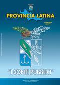 Stemma della Provincia di Latina: metà trasparente e metà colorato