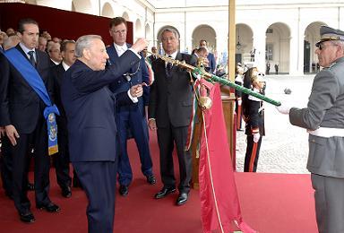La cerimonia del conferimento della Medaglia d'Oro al Gonfalone della Provincia di Latina