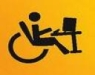 icona di disabile al pc