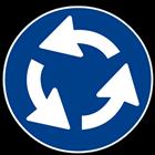 segnale stradale di rotatoria