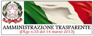 il logo dell'operazione trasparenza